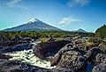 Volcán Osorno from Saltos del Petrohué, Chile.jpg