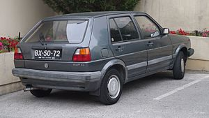 Volkswagen Golf - Volkswagen Golf CL (Portugal)