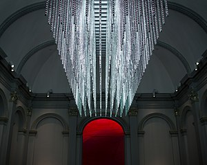 Leo Villareal - Image: Volume by Leo Villareal, LED Exhibit at Renwick Museum