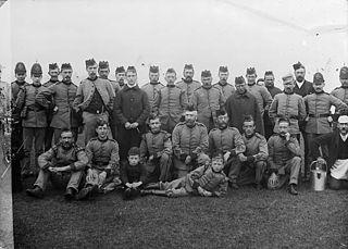 Volunteers camp, Trawsfynydd (1890)