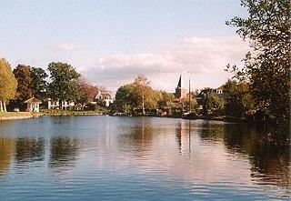 Vreeland Village in Utrecht, Netherlands