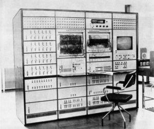 Hybrid computer - Polish Hybrid computer WAT 1001