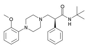 WAY-100,135 - Image: WAY 100,135 structure