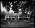 WEST (FRONT) ELEVATION - Magnolia Mound, 2161 Nicholson Drive, Baton Rouge, East Baton Rouge Parish, LA HABS LA,17-BATRO,14-1.tif
