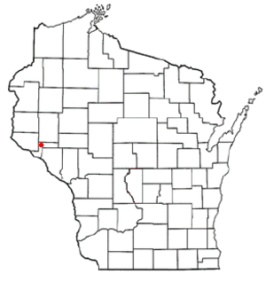 Waterville, Wisconsin - Image: WI Map doton Waterville