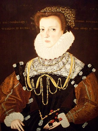 Thomas Coningsby - Philippa Coningsby, painted in 1578.