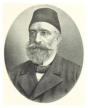 Chamber of Deputies (Ottoman Empire) - Midhat Pasha, one of the founders of Ottoman Parliament