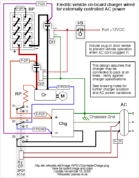 200px WPEVCContactorCharge electric vehicle conversion high power electrical wikibooks Basic Car Wiring Diagram at edmiracle.co