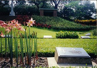 Comilla District - World War II cemetery in Mainamati.