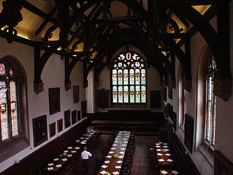 Wadham College, Oxford - Hall