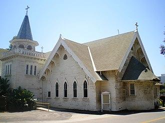 Wadsworth Chapel - North side, Catholic Chapel, 2008
