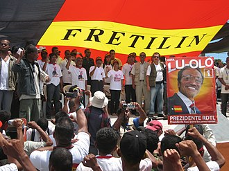2007 East Timorese presidential election - Election campaign with Francisco Guterres and Marí Alkatiri