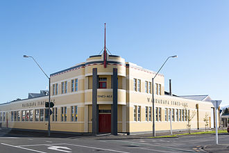 Masterton - Times-Age offices and printing works