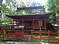 Wakamiya Shrine in Usa Shrine.JPG