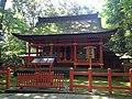 Wakamiya Shrine in Usa Shrine.JPG