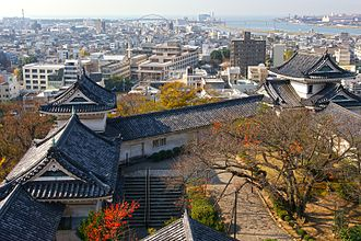Wakayama Castle - View from keep