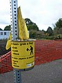 Walk Safety Flags Fortuna CA.jpg