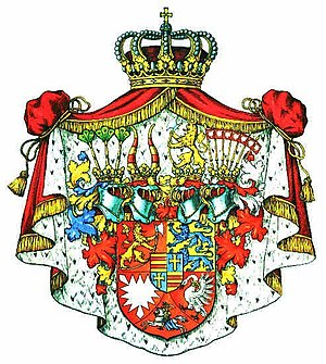 Schleswig-Holstein-Sonderburg-Beck - Coat of arms of the Dukes of Schleswig-Holstein-Sonderburg-Beck