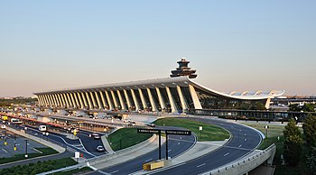 English: Main Terminal of in Virginia, USA.