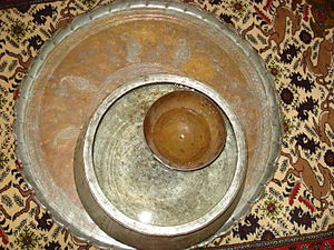 Qanats of Gonabad - Ancient Persian clock in Qanats of Gonabad Zibad
