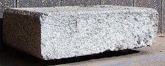 Commonwealth Avenue (Canberra) - Image: Waterloo Bridge stone Canberra