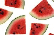 Triangular Watermelon slices