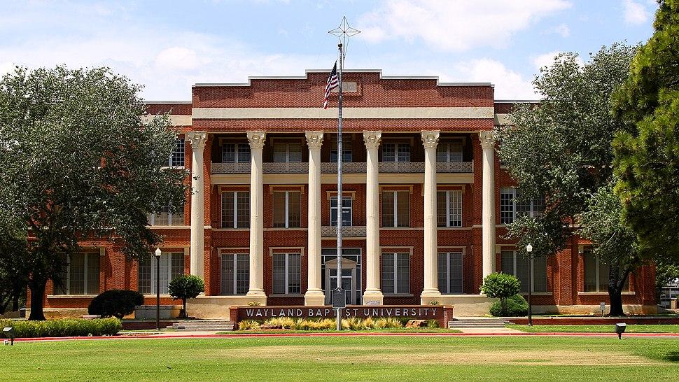 Wayland Baptist University Plainview Texas 2019