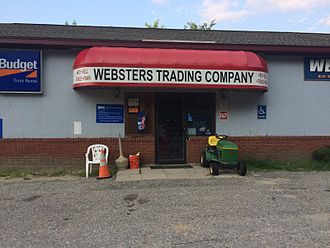"""Down East Dickering - Auburn's Webster's Trading Company, a pawn shop owned by Donald """"Donnie"""" Webster, is featured in several episodes"""