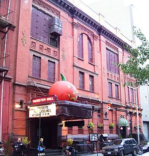 Webster Hall - Image: Webster Hall