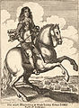 Wenceslas Hollar - Earl of Northuberland, Cromwell, and the Duke of York (State 4).jpg