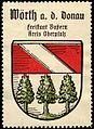 Werbemarke Wappen Wörth an der Donau.jpg