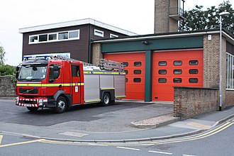 West Yorkshire Fire and Rescue Service - Wetherby fire station