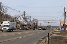 White Lake Township Michigan Highland Road.JPG