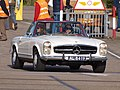 White Mercedes-Benz convertible.JPG