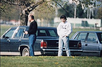 Kevin Weeks - Kevin Weeks (on the right) with Whitey Bulger, surveillance photo