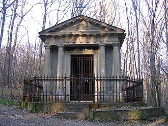 Franz Moritz von Lacy - Tomb of Franz Moritz von Lacy in the Schwarzenbergpark in Neuwaldegg, Vienna