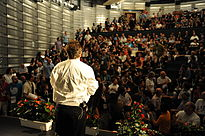 Wikimania 2011 - Closing ceremony (32).JPG