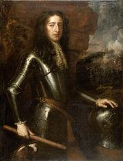 ritratto di un uomo vestito di armatura, guardando a destra