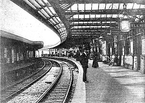 Willesden Junction station - High Level station in late 1890s