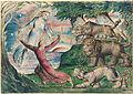 William Blake - Dante running from the three beasts - Google Art Project.jpg