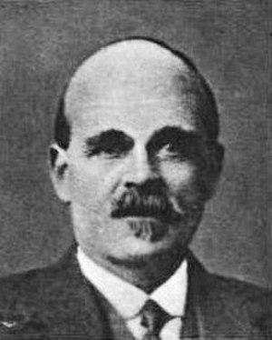 William Gillis (politician) - Gillis in 1921