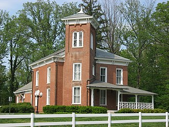 National Register of Historic Places listings in Gibson County, Indiana - Image: William M. Cockrum House