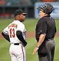 Willie Randolph and Gary Cederstrom in 2011 (5757425872).jpg