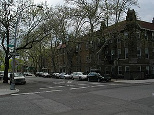 Windsor Terrace, Brooklyn - Typical residential street in Windsor Terrace