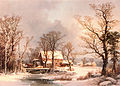 Winter in the Country, The Old Grist Mill.jpg