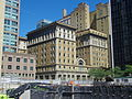With a demolished building out of the way a rare view of the King Edward Hotel from Wellington, 2014 08 24.JPG