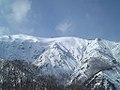 With a view of the Happo-one (Olympic Winter Games NAGANO 1998, Men's Downhill Starting Point) - panoramio.jpg