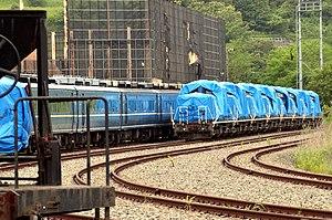 JNR Class DD51 - Eight withdrawn JR Hokkaido Class DD51s stored at Jinyamachi Rinkai Yard in July 2016