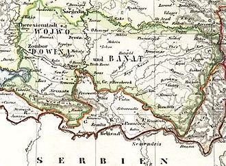 Voivodeship of Serbia and Banat of Temeschwar - Image: Wojwodowena und Banat