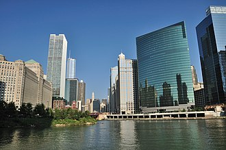 333 Wacker Drive - Image: Wolf Point Chicago 01
